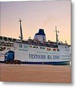 Passenger Port Piraeus. Metal Print