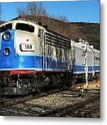 Passenger Train Metal Print
