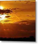 Passing Of Another Day Metal Print