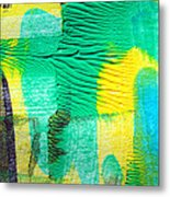 Passing Time Acrylic Mind Image  Metal Print by Sir Josef - Social Critic - ART
