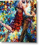 Passion Dancing Metal Print