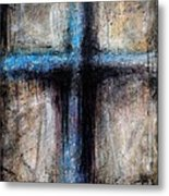 Passion Of The Cross Metal Print