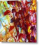 Passion Rising Metal Print