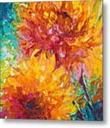 Passion Metal Print by Talya Johnson