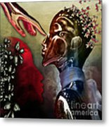 Passion Was...not A Thought Metal Print