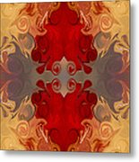 Passionate Explosions Of Colorful Reality By Omaste Witkowski Metal Print