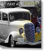 Past And Present Classic Metal Print
