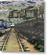 Past Century Trains Metal Print