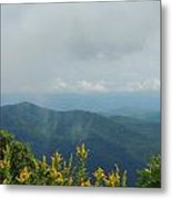 Past The Mountains Metal Print