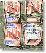 Past Their Sell-by Date.. Metal Print