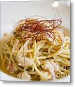 Pasta Food Metal Print