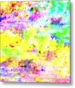 Pastel Abstract Patterns I Metal Print