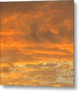 Pastel And Serene Sunset 2 Metal Print
