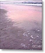 Pastel Beach Metal Print