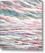 Pastel Mixture Metal Print by Janet Moss
