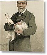Pasteur's Rabies Vaccine Research, 1880s Metal Print by Science Photo Library