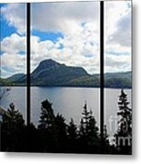 Pastoral Scene By The Ocean Triptych Metal Print