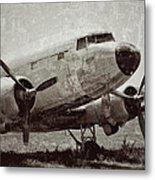 Pasture For Planes Metal Print