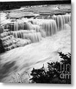 Patagonia Rio Glaciar Waterfall Metal Print