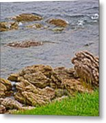 Patch Reefs At Point Amour In Labrador Metal Print