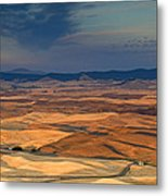 Patched Palouse Metal Print