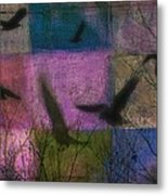 Patched Quilt Metal Print