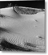 Patches In The Dunes Metal Print