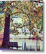 Patches Of Color Metal Print