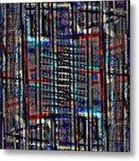 Patchwork Architecture 2 Metal Print