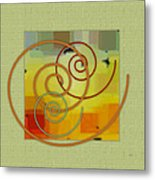 Patchwork I Metal Print by Ben and Raisa Gertsberg