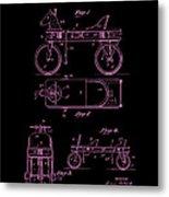 Patent Art 1920 Herzog Hobby Horse Pink Metal Print