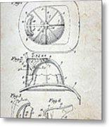 Patent - Fire Helmet Metal Print