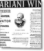 Patent Medicine Ad, 1893 Metal Print by Granger