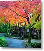 Path And Palette Metal Print