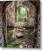 Path Less Travelled Metal Print