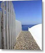 Path Out To Sea Metal Print