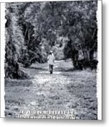 Path Psalm Metal Print