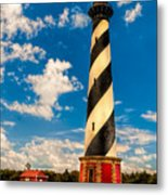 Path To Cape Hatteras Light Metal Print