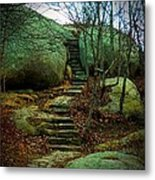 Path To Munchkinville Metal Print by Marcia Lee Jones