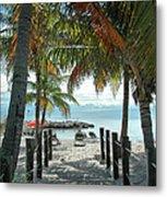 Path To Smathers Beach - Key West Metal Print