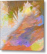 Path To Sunset Rock Metal Print