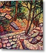 Path To The Cascades Metal Print