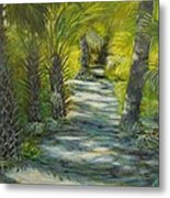 Path To The Point Metal Print