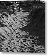 Pathway Through The Dunes Metal Print by Luke Moore