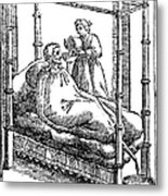 Patient And Nurse, 1646 Metal Print