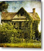 Patiently Waiting Metal Print by Lois Bryan