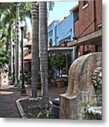Patio Deleon Fort Myers Metal Print