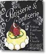 Patisserie And Confiserie Metal Print