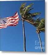 Patriot Keys Metal Print by Carey Chen