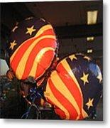 Patriotic Balloons Veteran's Day Casa Grande Arizona 2004 Metal Print